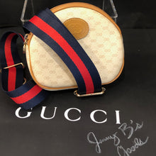 Load image into Gallery viewer, Vintage Beige GG Supreme Gucci Micro Dome Crossbody Bum Bag Shoulder Bag
