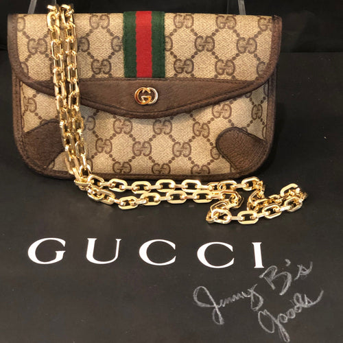 Classic GG Supreme Gucci Pouch Crossbody Bum Bag Shoulder Bag