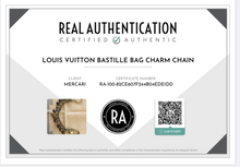 Load image into Gallery viewer, Chic LV Pastilles Pointed Fleur Logo Louis Vuitton Charm Repurposed Necklace