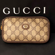 Load image into Gallery viewer, Vintage Brown GG Supreme Gucci Mini Crossbody Bum Bag Shoulder Bag