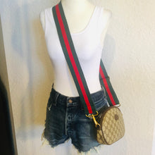 Load image into Gallery viewer, SOLD Vintage GG Supreme Convertible Gucci Logo Clutch, Crossbody, Bum Bag, Shoulder Bag