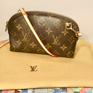 Vintage Dome Pouch - Louis Vuitton - Convertible Shoulder/Crossbody/Bum/Belt Bag + 2 Straps