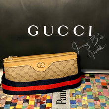 Load image into Gallery viewer, Vintage GG Supreme Micro Gucci Convertible 1 Bag 5 Ways