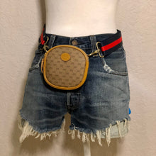 Load image into Gallery viewer, Vintage Mini GG Supreme Micro Gucci Coin Crossbody Bum Bag Shoulder Bag