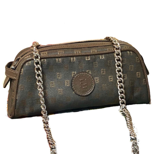 Adorable FF logo Fendi Convertible Pouch/Crossbody/Bum Bag