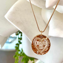 Load image into Gallery viewer, I Love CC - Gold Chanel Button Pendant