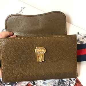 Vintage Gucci GG Supreme Convertible WOC, Crossbody, Bum Bag