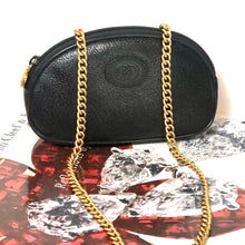 Load image into Gallery viewer, Rare Black GG Supreme Gucci Convertible Clutch/Crossbody/BumBag +2 Straps!