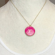 Load image into Gallery viewer, Fabulous LV Pull in Various Colors - Trunks and Bags Charm Used as Pendant - Hot Pink