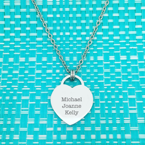 This Nanna Belongs Too Personalised Double Sided Necklace (Personalise With Names Of Your Choosing)