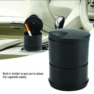 876 Portable LED Ashtray Cup Holder for Cars/Truck/Auto