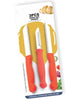 N03_ 3 Pcs Kitchen Knife Set, Peeler  Steel Knife Set  (Pack of 3)