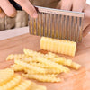 2007_Crinkle Cut Knife Potato Chip Cutter With Wavy Blade French Fry Cutter