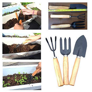 Glamified Gardening Hand Cultivator, Big Digging Trowel, Shovel & Garden Gloves with Claws for Digging & Planting