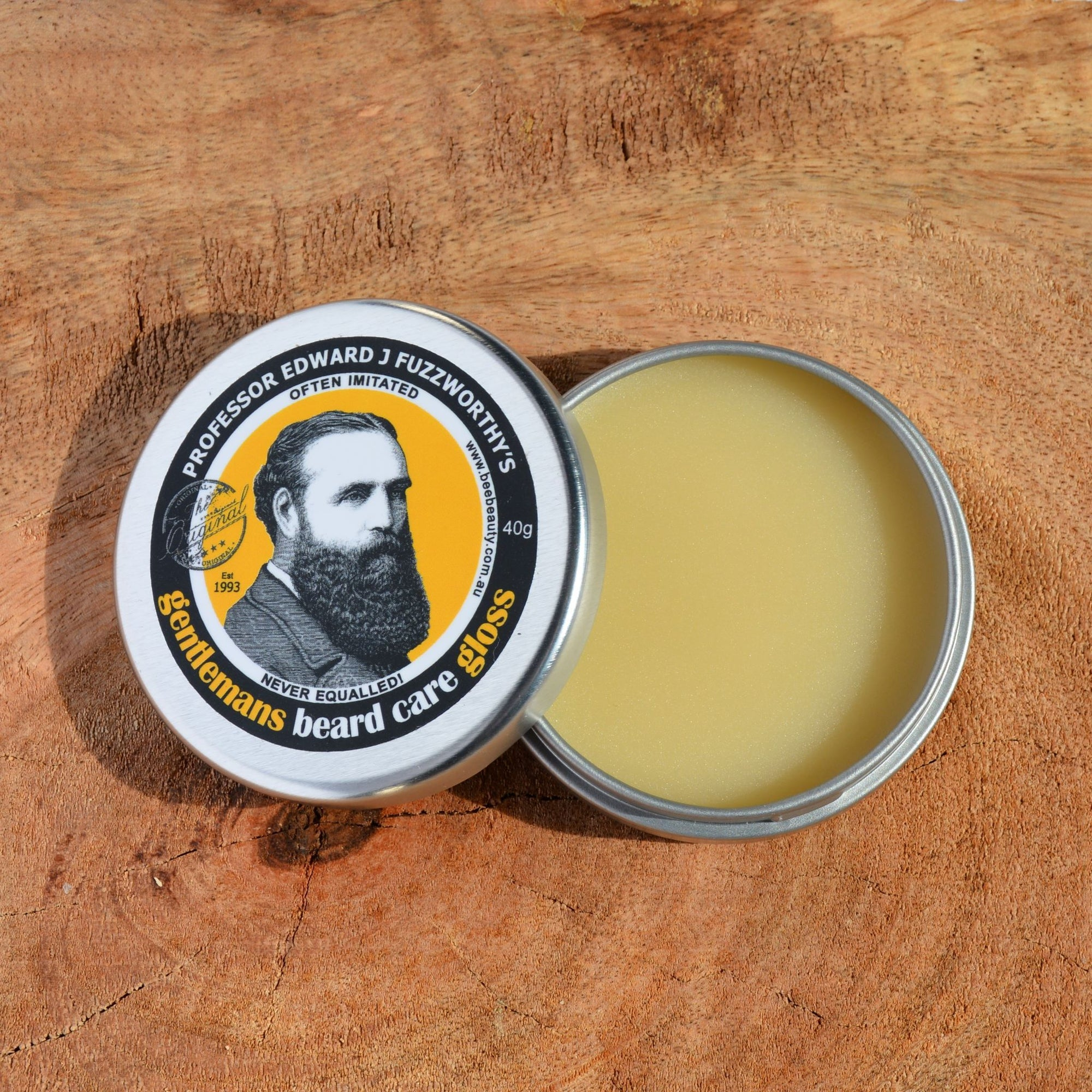 Natural Beard Care Gloss | Soft Wax