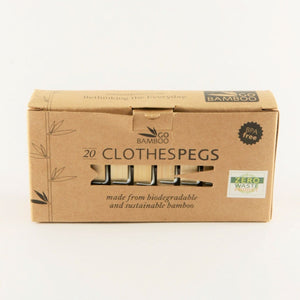 Biodegradable Clothes Pegs | Waste Free