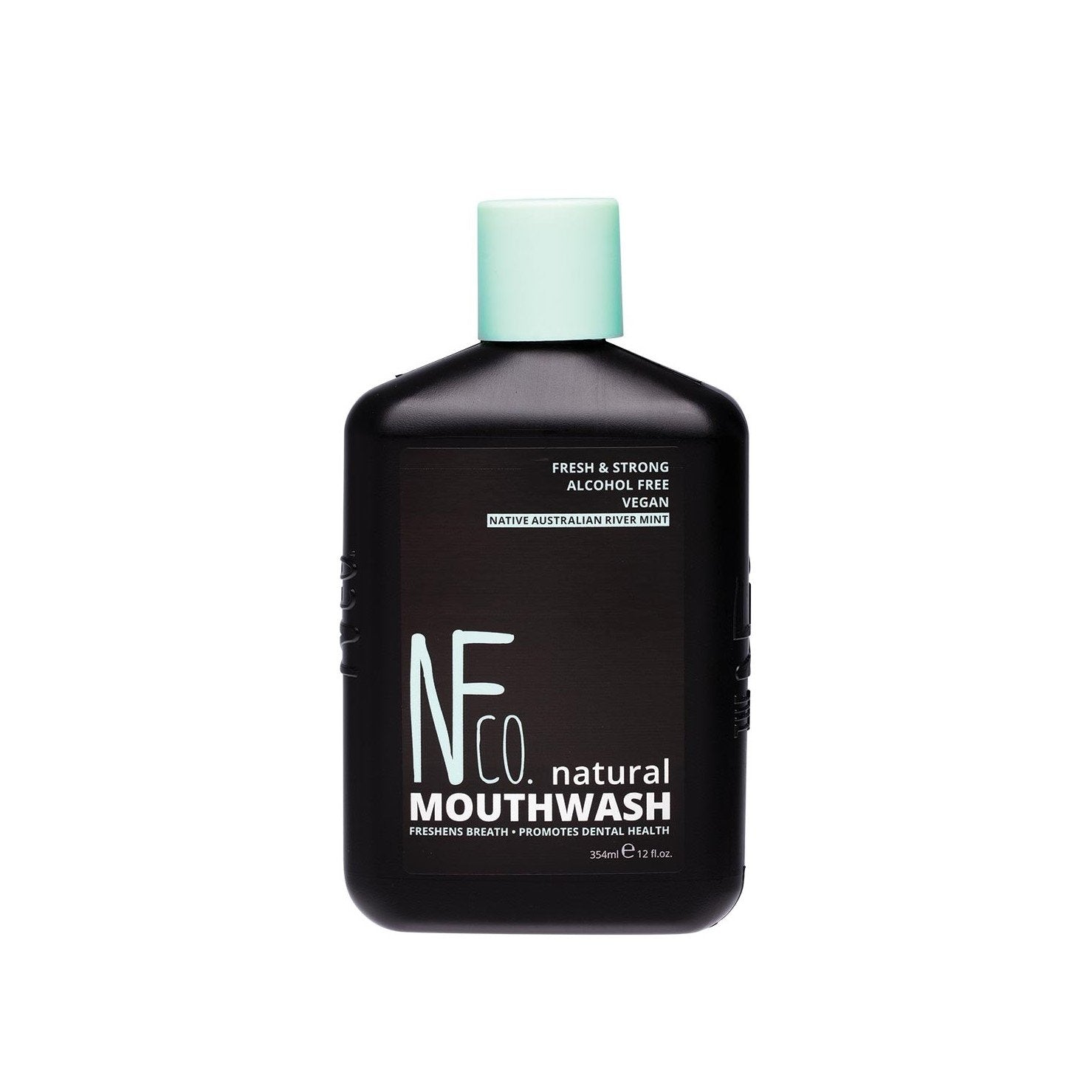 Natural River Mint Mouthwash | Alcohol & Fluoride Free