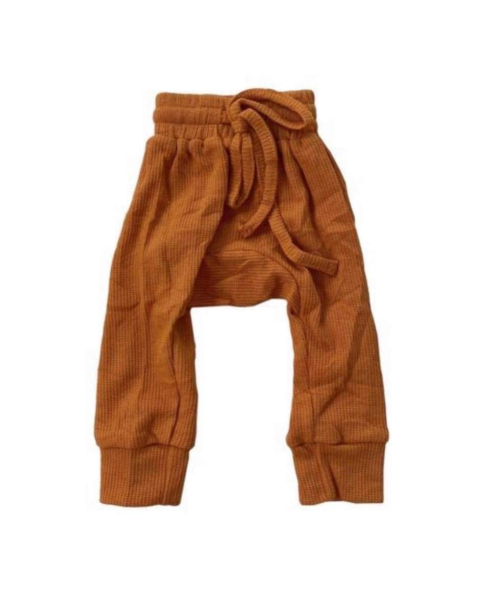 Harem Trackpants - Burnt Mustard