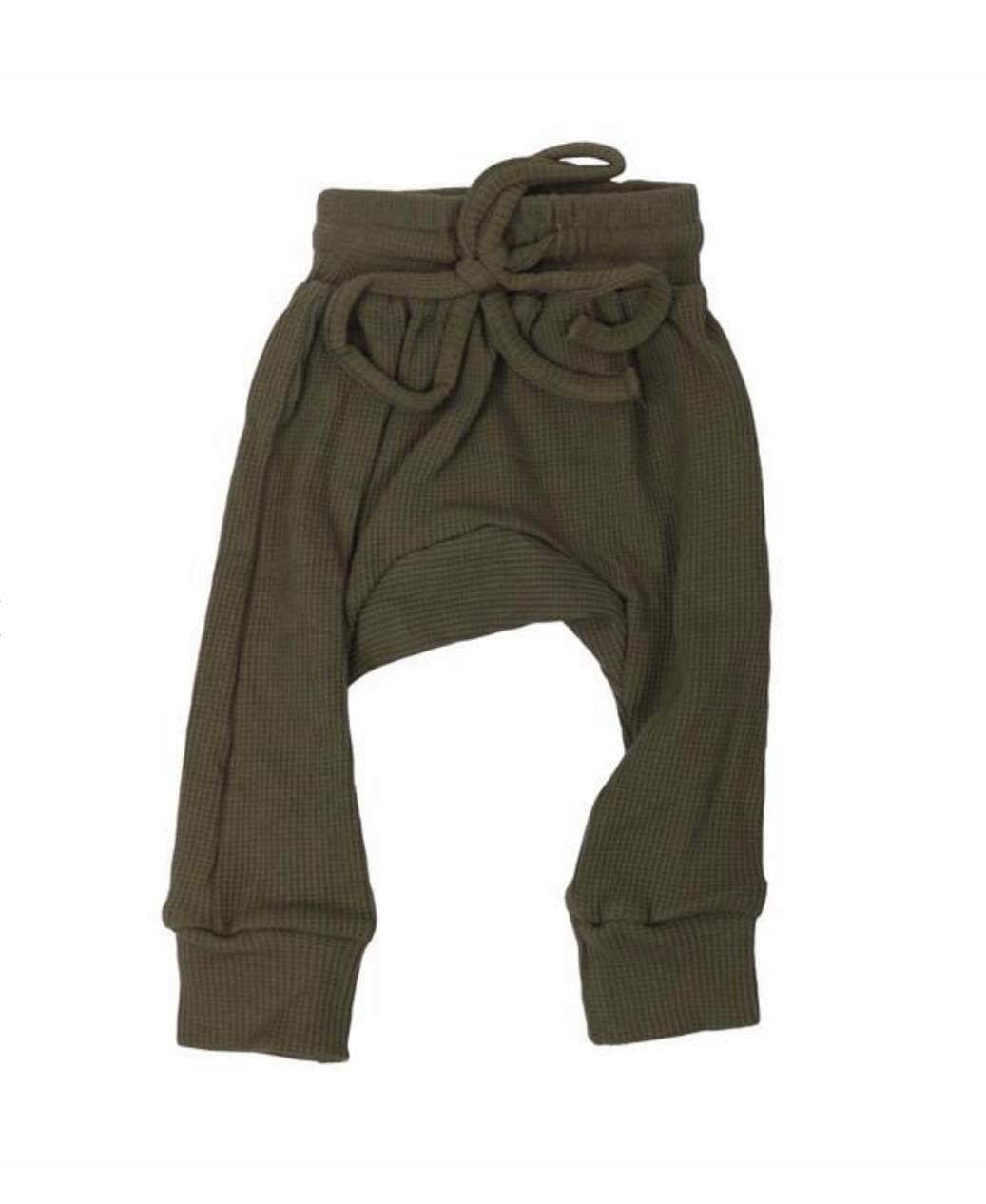 Harem Trackpants - Olive Green