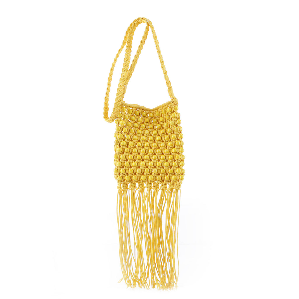 Minka Beaded Crossbody Bag