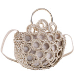 Rachel Crochet Half Moon Bag