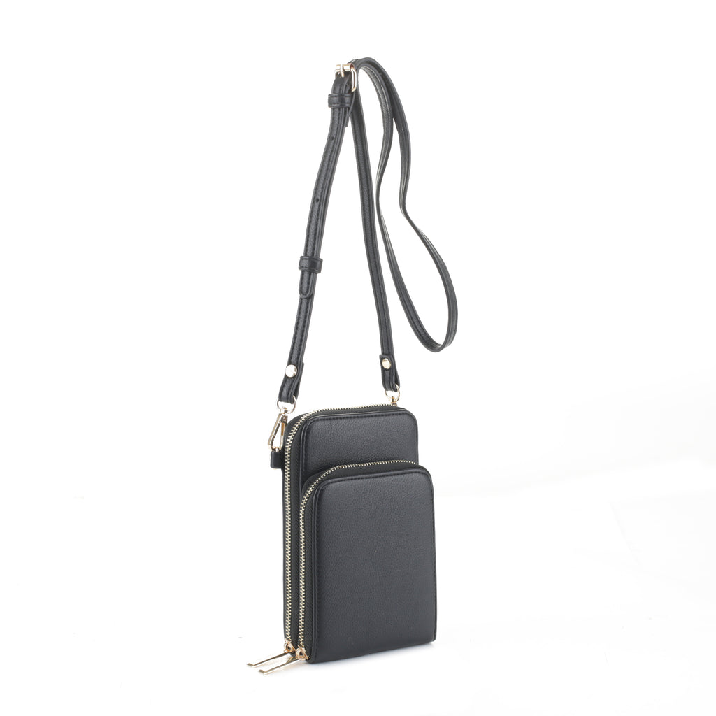Jo Double Zip Tech Wallet