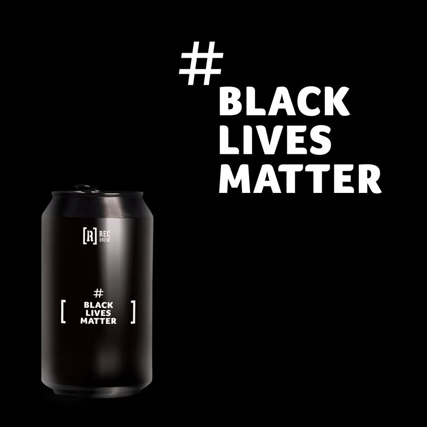 REC BREW #BlackLivesMatter - DDH West Coast IPA 6,5% Alc. Lata 33cl
