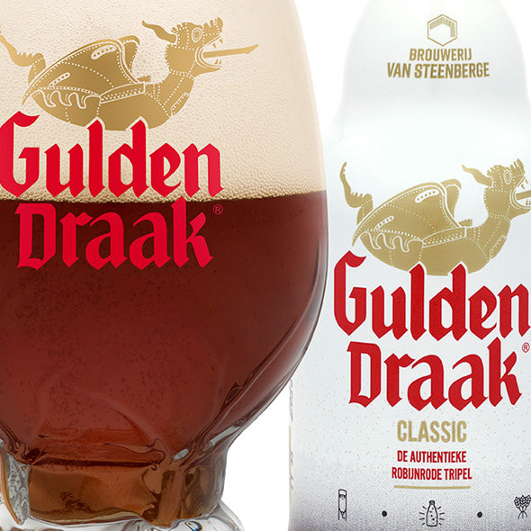 GULDEN DRAAK Classic - Belgian Dark Strong Ale Alc. 10,5% - 33cl