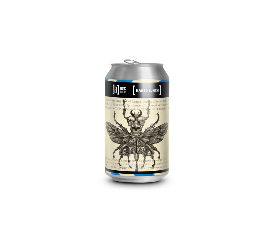 REC BREW Naked Lunch - DDH HAZY PALE ALE 5.5% Alc. - Lata 33cl