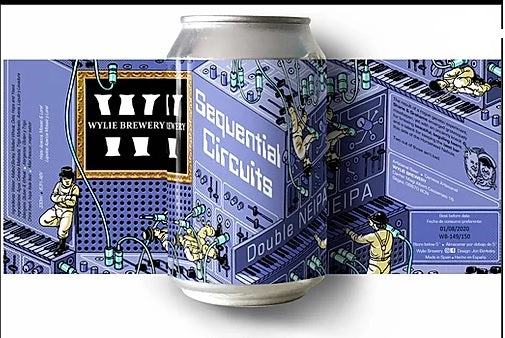 WYLIE SEQUENTiAL CiRCUiTS - DDH Doble NEIPA 8.3% Alc - Lata 33cl
