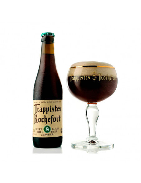 ROCHEFORT 8 - Belgian Dark Strong Ale Alc. 9,2% - 33cl