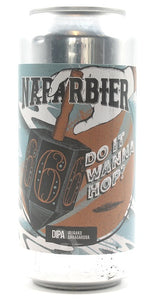 NAPARBIER Do it wanna hop? - Imperial IPA 8,3% Alc. Lata 44cl