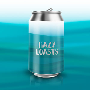 ATTIK /CASTELLÓ BEER Co. Hazy Coast - Fruity NEIPA 5,7% Alc. - Lata 33