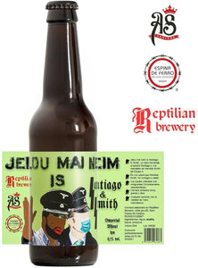 REPTILIAN Jelou, mai neim is S&S - Imperial White IPA 8,7% - 33cl