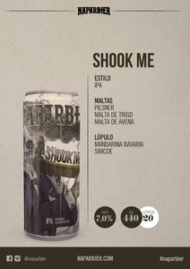 NAPARBIER Shook Me - IPA - Acl. 7% - 44cl