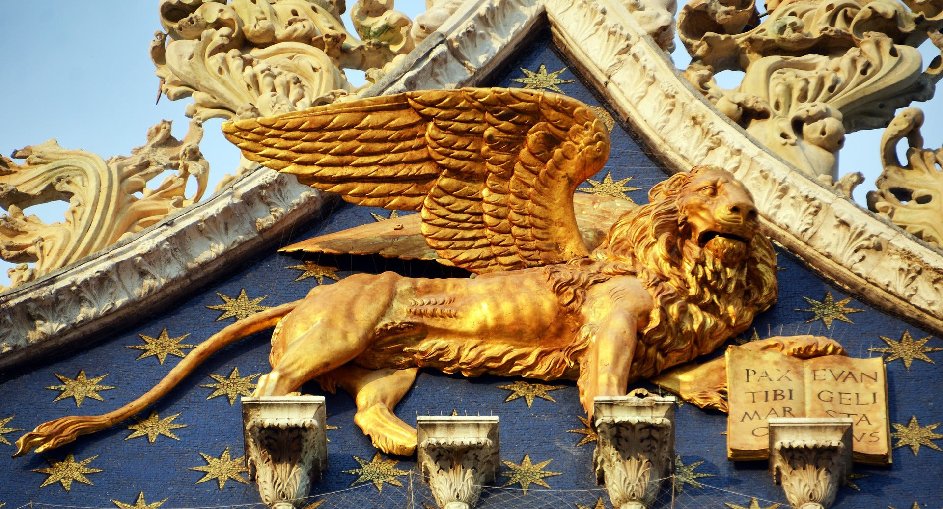 Sculpture Lion de Saint-Marc à Venise