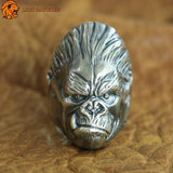 Bague Gorille Homme Viril Lion Sauvage