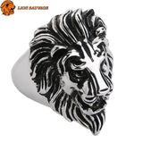 Bague Lion King en Argent Sterling