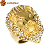 Bague Lion de la Jungle