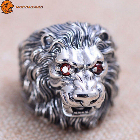 Bague Lion of Judah Argent de face