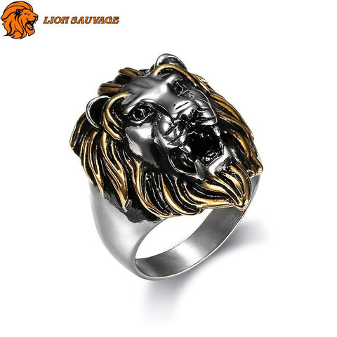 Bague Tete de Lion Design