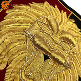 Broderies du Patch Lion Attirance