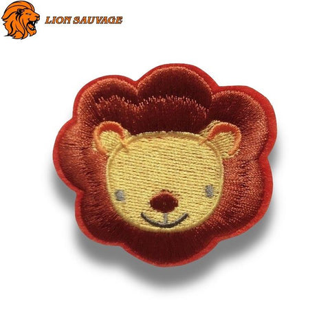 Patch Lion Animé Thermocollant