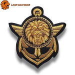 Patch Lion Capitaine à Coudre