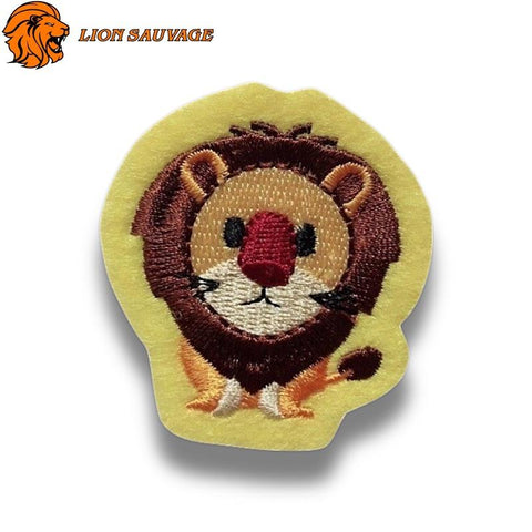 Patch Lion Mignon Thermocollant