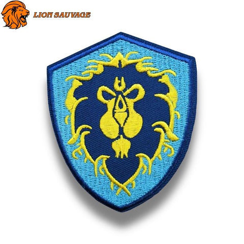 Patch Lion de Légende Thermocollant