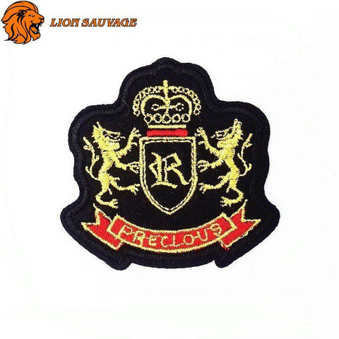 Patch Double Lion