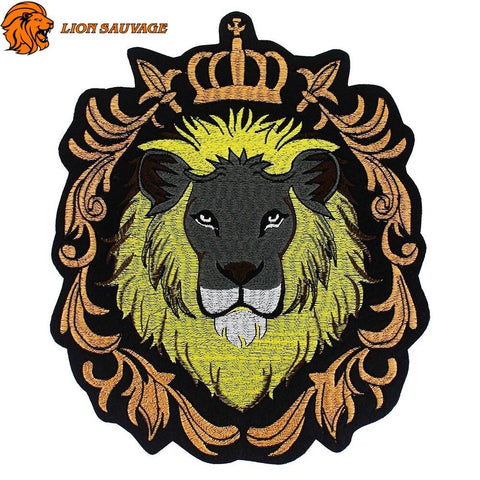 Patch Lion Africain