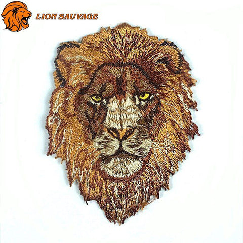 Patch Lion Chevalier