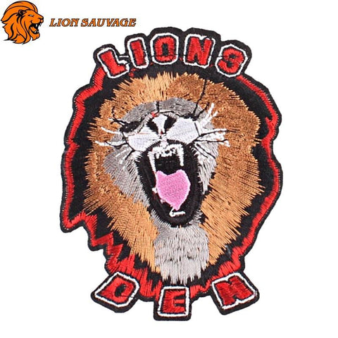 Patch Lion Féroce